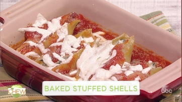 Michael Symon\'s Baked Stuffed Shells: Part 1