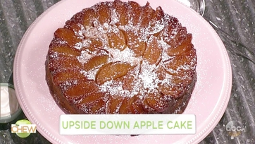 Carla Hall\'s Upside Down Apple Cake: Part 1