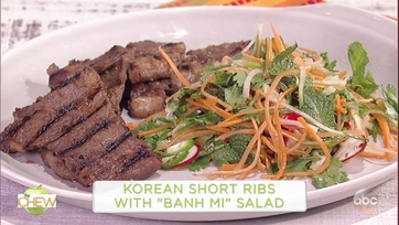 Michael Symon\'s Korean Short Ribs with \'Banh Mi\' Salad: Part 1