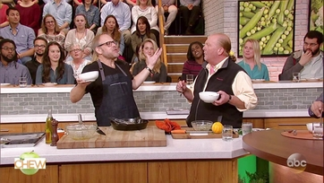Alton Brown\'s Breakfast Carbonara: Part 2