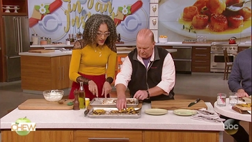 Carla Hall\'s Acorn Squash Goat Cheese Tart: Part 2