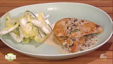 Clinton Kelly\'s Chicken au Poivre: Part 1