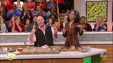 Mario Batali\'s Hungarian Pork Cutlet Sandwich: Part 2