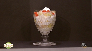 Clinton Kelly\'s Tapioca Pudding Parfait