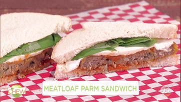 Michael Symon and Anthony Anderson Make a Meatloaf Parm Sandwich: Part 1