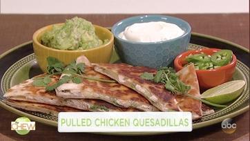 Michael Symon\'s Pulled Chicken Quesadillas: Part 1