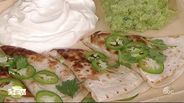 Michael Symon\'s Pulled Chicken Quesadillas: Part 2