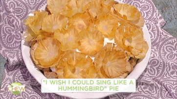 Carla Hall and Jessie Mueller Make \'I Wish I could Sing Like a Hummingbird\' Pie: Part 1