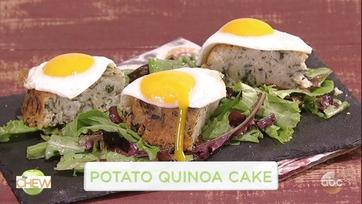 Clinton Kelly and America Ferrera Make a Potato Quinoa Cake: Part 1