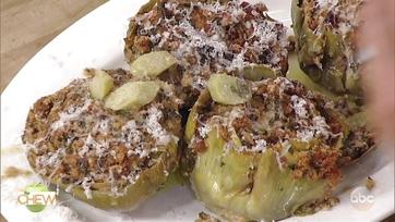 Artichokes with Ricotta Salata and Roman-Style Stuffed Artichokes: Part 2