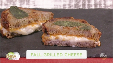 Fall Grilled Cheese: Part 1