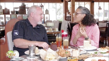 Carla Hall Visits Art Smith\'s Homecoming in Disney Springs