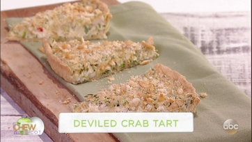 Carla Hall\'s Deviled Crab Tart: Part 1