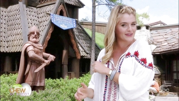 Daphne Oz Visits Frozen Ever After on The Chew