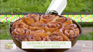 Caramel and Chocolate Cinnamon Rolls: Part 1
