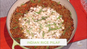Indian Rice Pilaf: Part 1