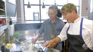 Carla Hall Visits New Rick Bayless Restaurant Frontera Cocina