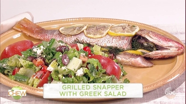 Grilled Snapper with Greek Salad: Part 1