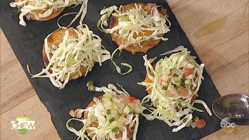 Black-Eyed Pea and Cheddar Tostada: Part 2