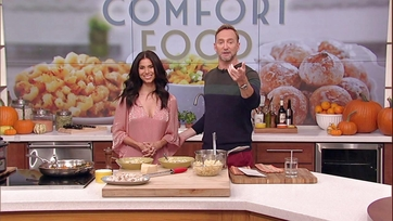 Roselyn Sanchez and Clinton Kelly Make Lemon Chicken Soup with Kale and Butternut Squash: Part 2