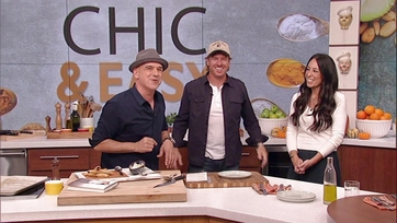 Chip and Joanna Gaines Make Spiced Beef Cigars with Michael Symon: Part 2