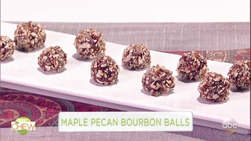 Maple Pecan Bourbon Balls: Part 1