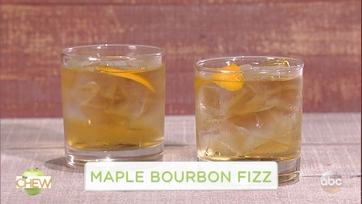 Maple Bourbon Fizz