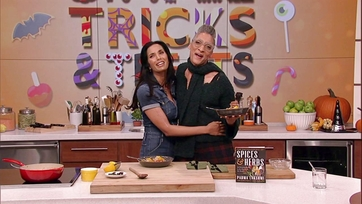 Padma Lakshmi and Carla Hall Make Spiced Curry with Pumpkin: Part 2