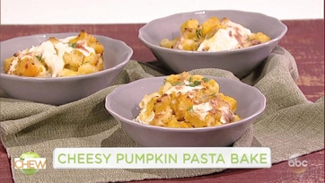 Cheesy Pumpkin Pasta Bake: Part 1