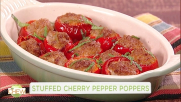 Stuffed Cherry Pepper Poppers and Wicked Jalapeno Poppers: Part 1