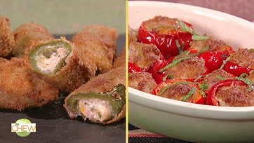 Stuffed Cherry Pepper Poppers and Wicked Jalapeno Poppers: Part 2