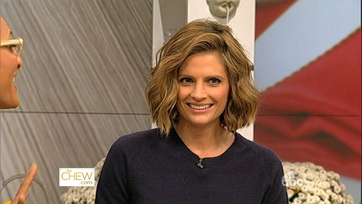 Stana Katic Gets Cooking - 1