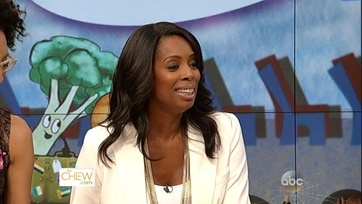 Tasha Smith Heats Up The Kitchen - 1