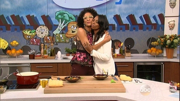 Tasha Smith Heats Up The Kitchen - 2