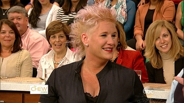 Anne Burrell Gets Cooking