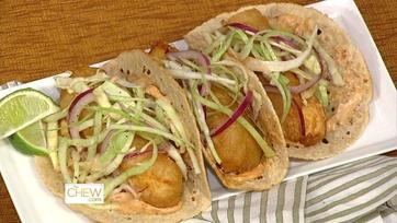 Clinton\'s Fried Fish Tacos - 1