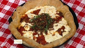Sausage & Pepper Skillet Pizza: Part 1