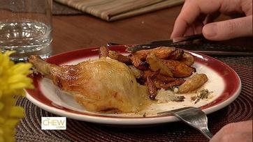 Roast Chicken, Potatoes, & Carrots - 2