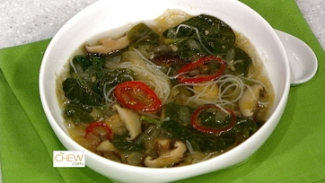 Spicy Mushroom & Noodle Soup
