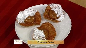 Chocolate Tuiles - 1