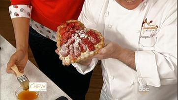 Chocolate-Strawberry Tart