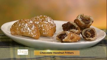 Chocolate Hazelnut Fritters - 1