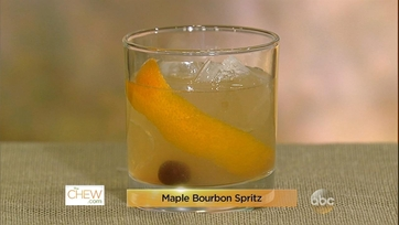 Maple Bourbon Spritz