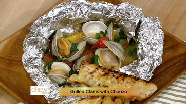 Grilled Clams with Chorizo: Part 1