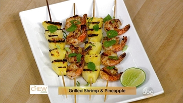 Grilled Shrimp and Pineapple: Part 1