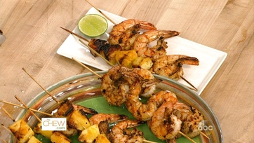 Grilled Shrimp and Pineapple: Part 2