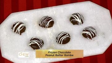 Frozen Chocolate Peanut Butter Bombe: Part 1