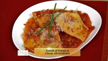 Potato/Chives Tortelli All\'Arrabbiata: Part 1