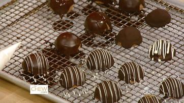 Frozen Chocolate Peanut Butter Bombe: Part 2