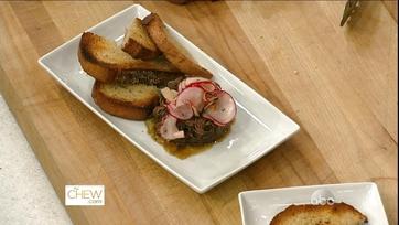 Short Ribs w/ Onion Jam & Radish Salad: Part 2